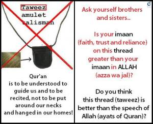 Taweez (Amulets) Can Lead To Shirk & Are Haram (Forbidden)